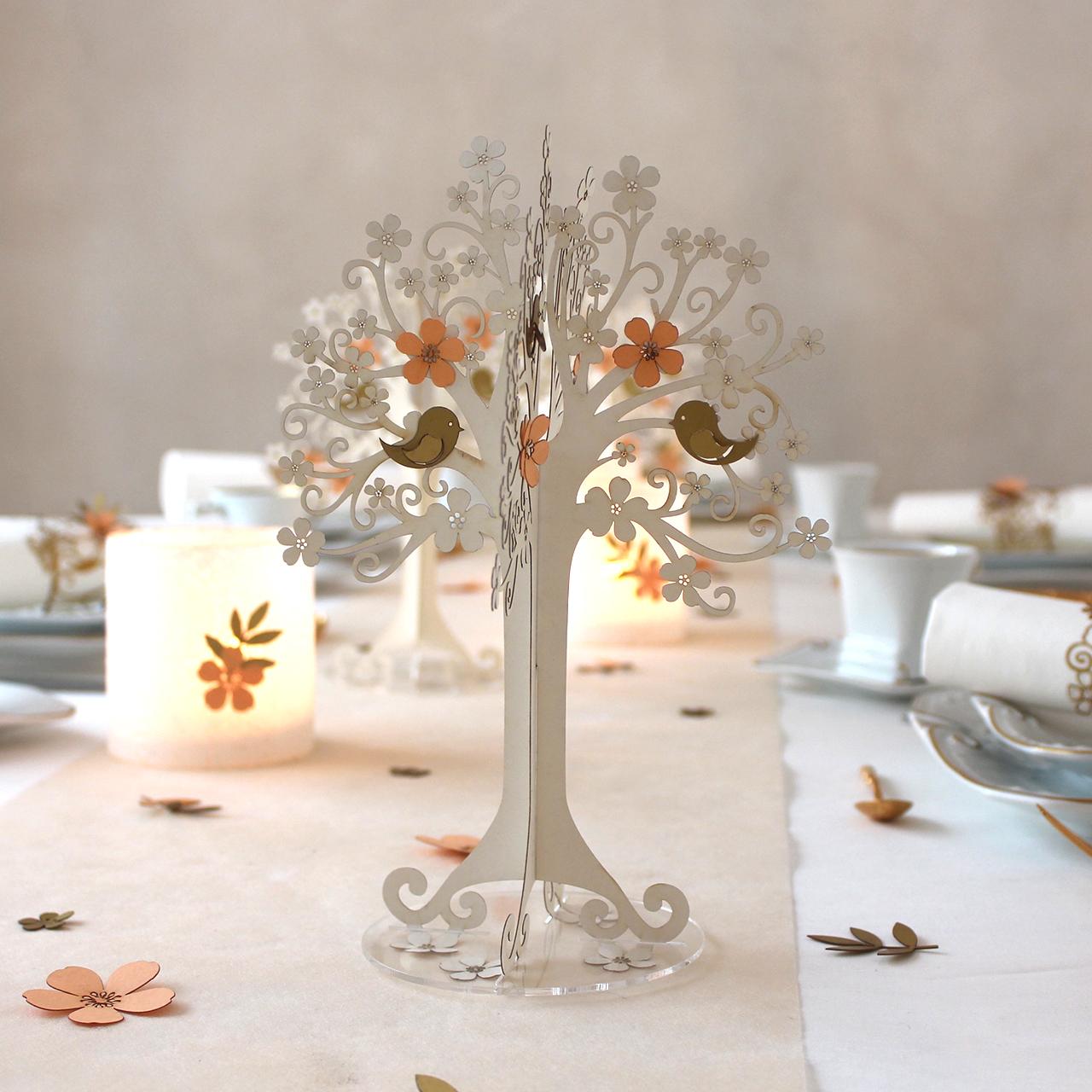 tischdeko hochzeit apricot gold kirschbl ten tischdeko geschenke. Black Bedroom Furniture Sets. Home Design Ideas