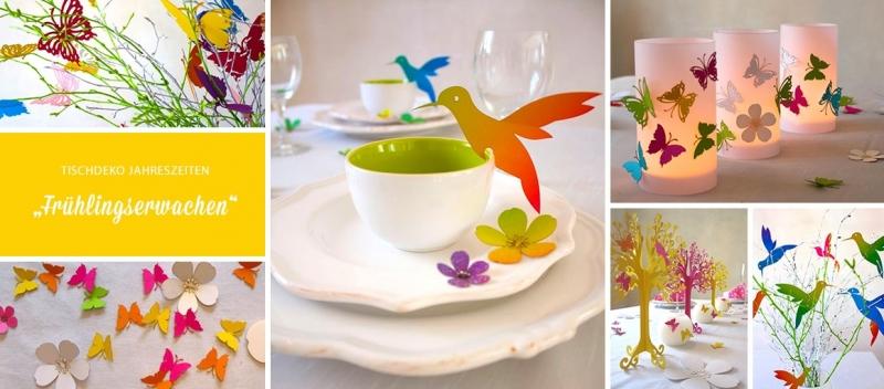 Tischdekoration Fruhling Fruhlingserwachen Tischdeko Geschenke