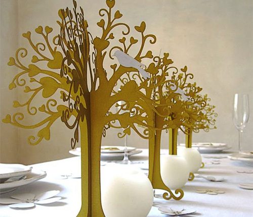 hochzeitsdekoration herziger baum gold herzbaum tischdeko b ume tischdeko geschenke. Black Bedroom Furniture Sets. Home Design Ideas