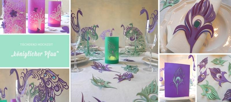 Tischdeko Hochzeit Lila Grun Tischdeko Geschenke